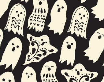 Boo in Black: Spooktacular by Maude Asbury 1 Yard  Cut