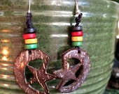 BrazilArte Coconut shell Beaded Earrings