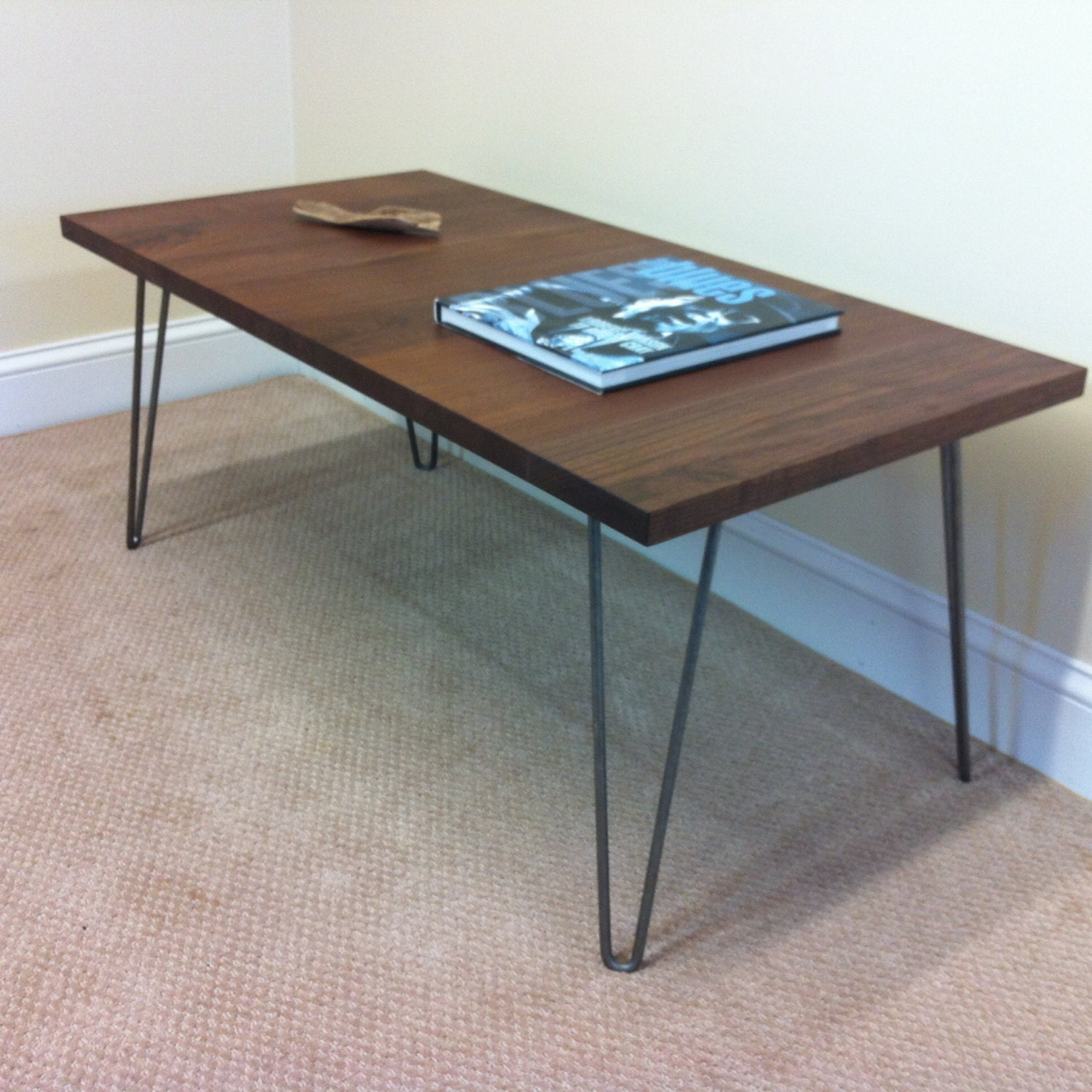 Mid Century Coffee Table Black: Mid Century Modern Coffee Table Featuring Black By Scottcassin