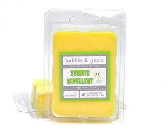 Zombie Repellent Scented Soy Wax Tart Melts - Sunflower, yellow