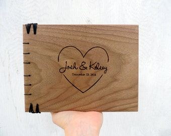 Personalized wedding guest books  / Unique wedding guest book  /  gift ideas for wedding / large wedding guest book couples journal
