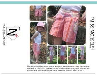Miss Morsel Shorts - PDF Pattern
