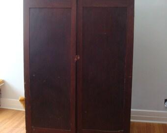 Antique Primitive Cupboard/Cabinet