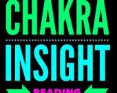 Chakra Insight  Tarot Reading- Video or MP3