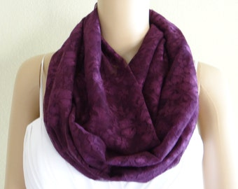 Wine Lace Circle Scarf. Wine Lace Infinity Scarf. Loop Scarf