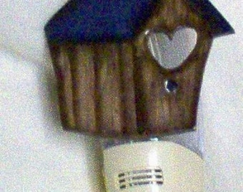 Birdhouse Night Light