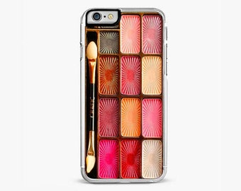 IPHONE 6 Plus CASE, iPhone 6s Cover, Pinky Makeup Set Rubber iPhone 5 /5s Case