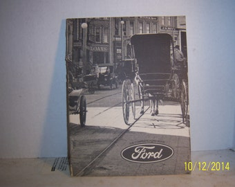 1970's The Complete Ford Automotive Car Truck Book