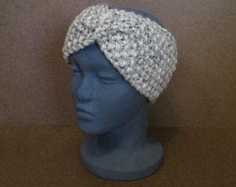 Headband, Chunky Knit Headband - The Brannan, Wool - MADE TO ORDER