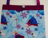 Frozen Elsa Anna Olaf Sisters Tote Bag Trick or Treat Bag Easter Basket