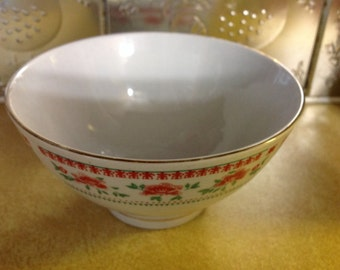 Vintage Porcelain Bowls Made In China For Action Industries, INC.