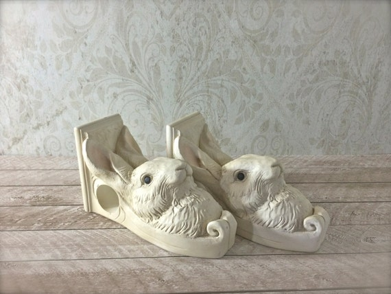Curtains Ideas corbel curtain rod bracket : Bunny Rabbit Curtain Rod Brackets Peter Rabbit Nursery Decor