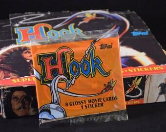 Vintage 1990s Hook Movie Trading Cards: 9 Card Single Pack