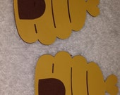 Beehive Two Part Paper Cut-out