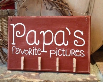 Display your favorite photo - sign