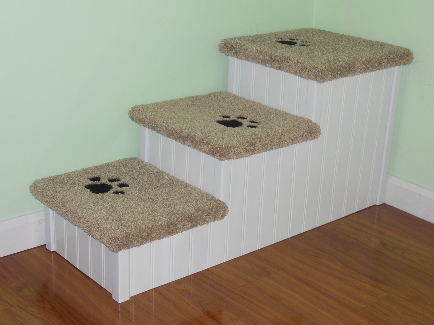 Pet Steps for Big Dogs Handmade in USA Extra Wide Long