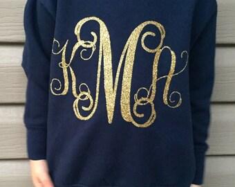 Toddler Monogrammed Sweatshirt