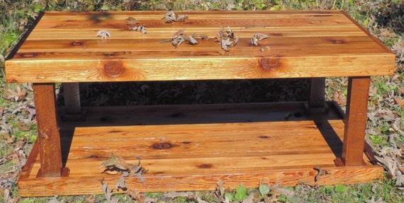 Rustic Cedar Coffee Table End Table Set Clearance By Harvestbilt