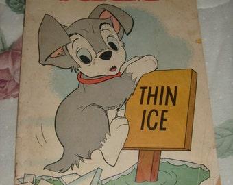 1960 Walt Disney Scamp Thin Ice Comic  Book