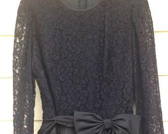 1980s formal vintage dress size 8