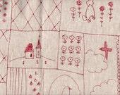 Patchwork in Pink by Megumi Sakakibara for Yuwa of Japan