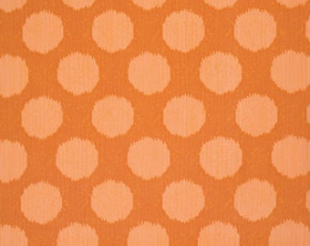 Static Dot in Tangerine from Moonshine by Tula Pink