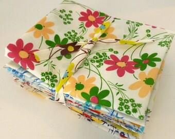 Kei  Vintage Time Floral for  Yuwa of Japan- Half Yard Bundle