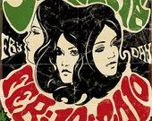 Santana Poster by Darren Grealish