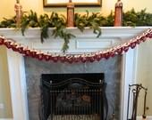 Advent Calendar Christmas Countdown Mittens hand crochet