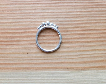 Silver Ring, stackable