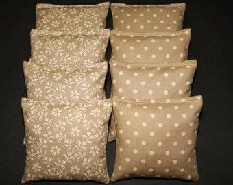 GOLD WEDDING Cornhole Bean Bags ACA Regulation Corn Hole Bean Bags Game