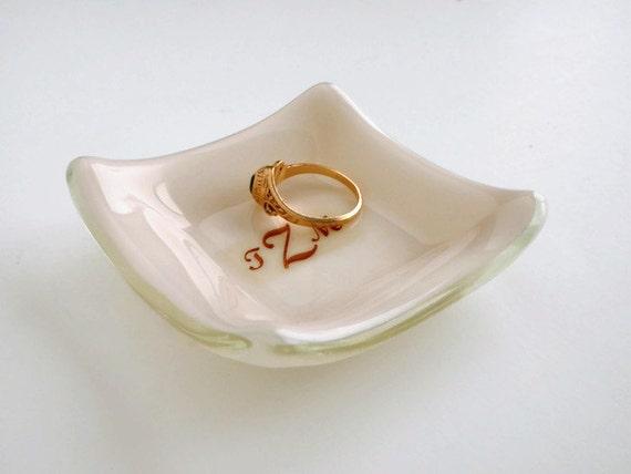 Personalised Wedding Gift Ring Dish : Personalized Ring DishMonogram Ring DishWedding Gift for Couple