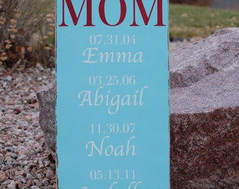 Greatest Blessings, Mom Wood Sign