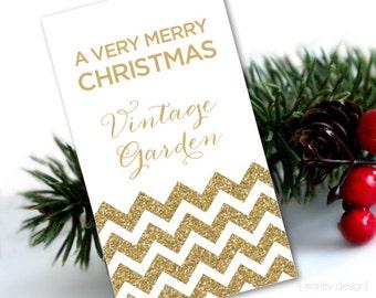 Gold Glitter Christmas Tags Gold Christmas Tags Holiday Tags Holiday Gift Tags Christmas Gift Tags Printable Digital Tags Corporate Company
