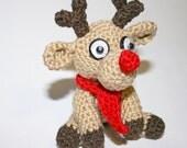 Amigurumi Santa's Reindeer Pattern