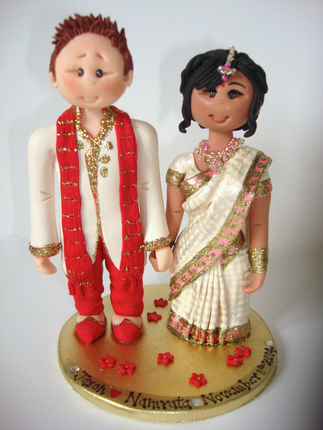 Wedding Gift Ideas For Vietnamese Couple : Personalised Asian Indian Sikh Hindu Pakistani Muslim Bride &