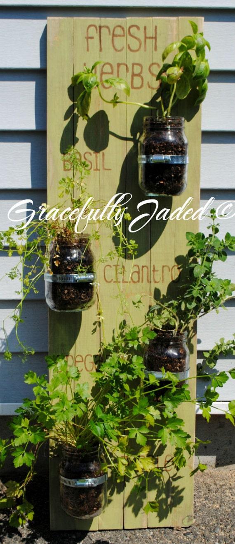 Herb Garden Outdoor Herb Garden Indoor Herb By Gracefullyjaded