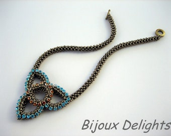TUTORIAL - Elegant Celtic Necklace
