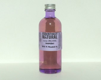 Pampering Rose Bath and Massage Oil
