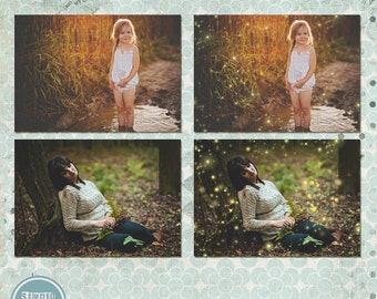 Sparkle Photo Overlays - Instant Download