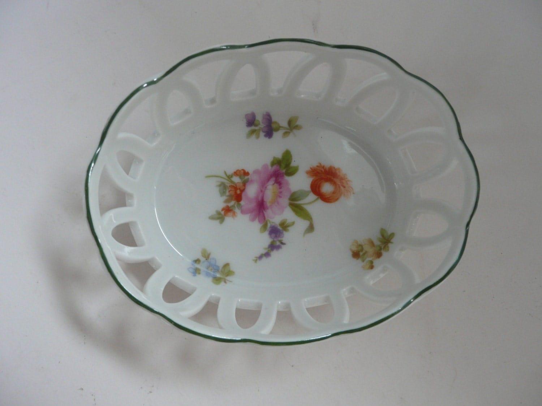 vintage philip rosenthal bavarian porcelain bowl dish. Black Bedroom Furniture Sets. Home Design Ideas