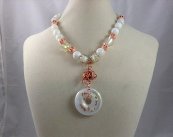 Lampworked Glass Necklace