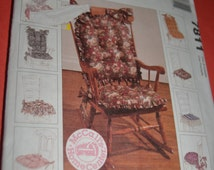 McCalls 7811 /764 Chair Cushions Sewing Pattern for eight different Cushions - UNCUT -