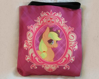 "18"" Canvas Tote Bag - Applejack"