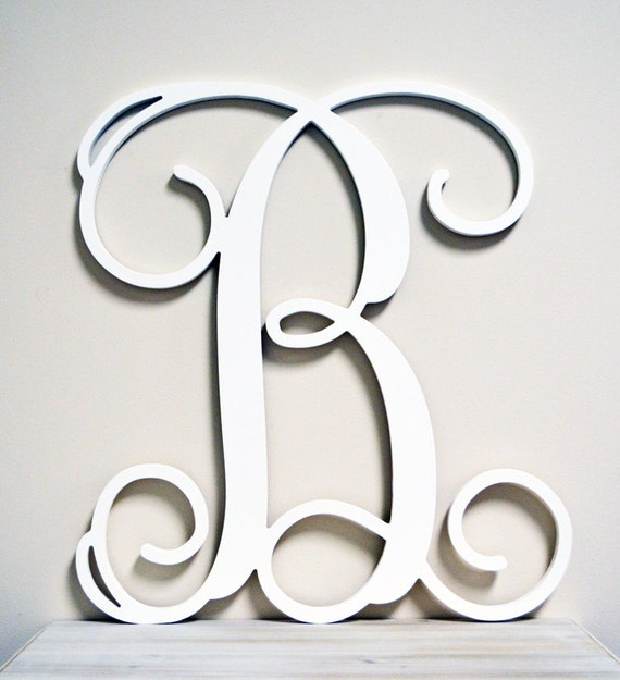 36 inch wooden monogram letter unfinishedunpainted for 36 inch wooden letters