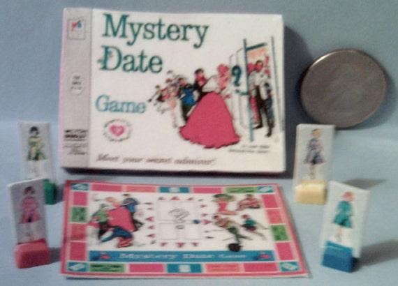 Mystery Date Board Game Mystery Date Board Game