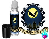 Gotham Nights Perfume Oil Rollerball - Batman