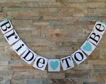 Bride to be banner Bridal shower banner Bachelorette Party Decoration
