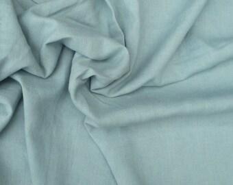 Linen Blend Fabric by the Yard SEAFOAM 7 oz Medium Weight