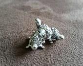 Cute Turtle European Charm Beads 3x